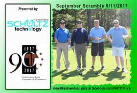 September Scramble - 7 -  - Golf Outing and Clambake 2016