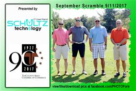 September Scramble - 1 -  - Golf Outing and Clambake 2016