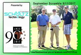 September Scramble - 4 -  - Golf Outing and Clambake 2016