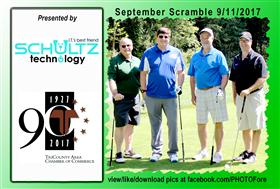September Scramble - 18 -  - Golf Outing and Clambake 2016