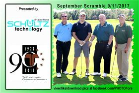 September Scramble - 19 -  - Golf Outing and Clambake 2016