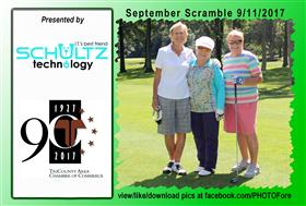 September Scramble - 11 -  - Golf Outing and Clambake 2016