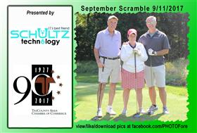 September Scramble - 12 -  - Golf Outing and Clambake 2016