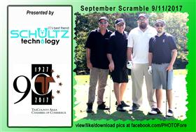 September Scramble - 14 -  - Golf Outing and Clambake 2016