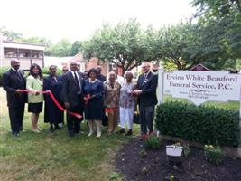 Ervina White Beauford Funeral Home -  - Ribbon Cuttings